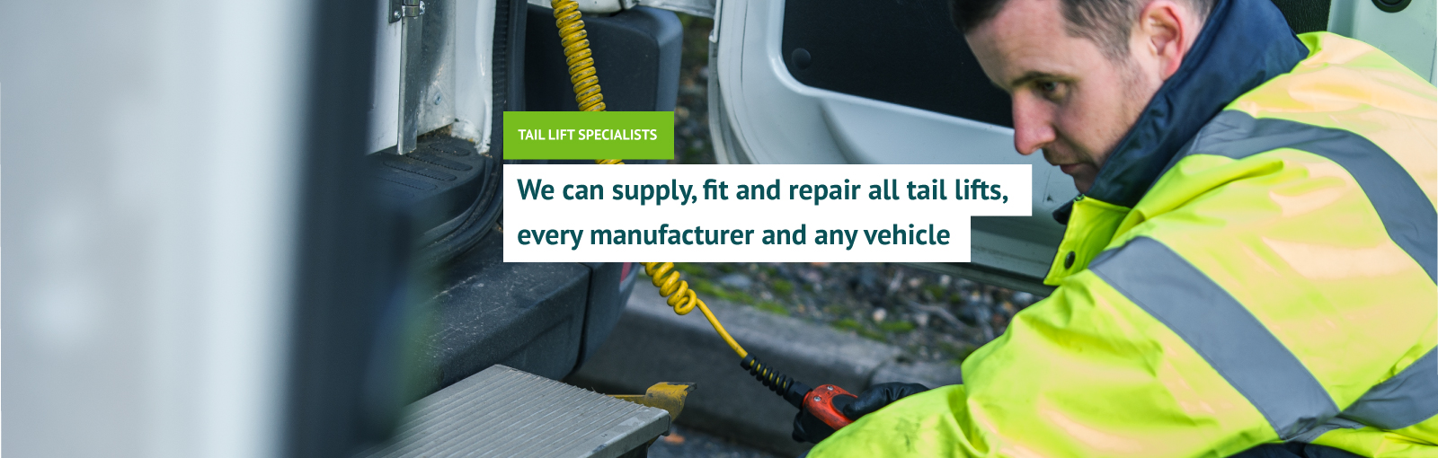 Taking care of all your tail lift needs