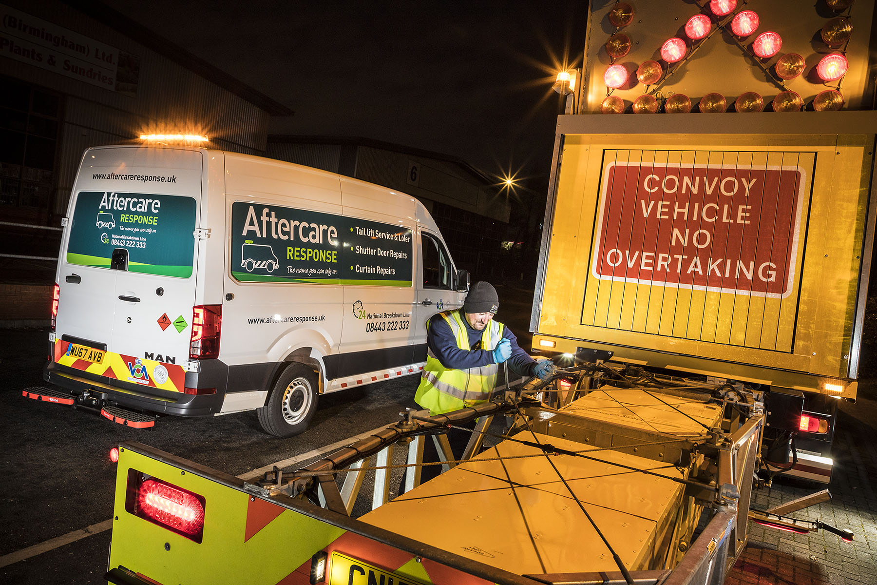 Aftercare Response takes its reassuring 'quality approved' PAS 43 message on the road