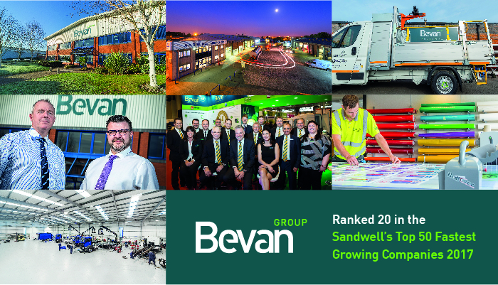 Bevan does it again - we are one of the top 50 growing businesses in Sandwell