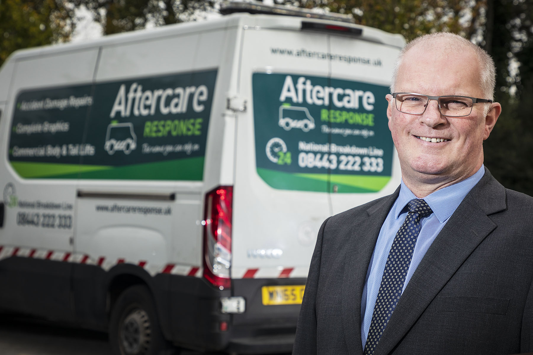 Andy brings a customer's perspective to his new role at Aftercare Response